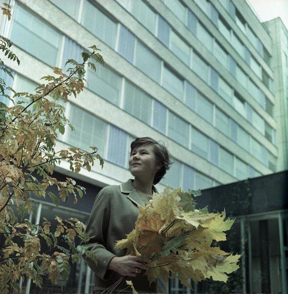 Архитектор Татьяна Баушева, один из авторов проекта гостиницы «Юность». Сигизмунд Кропивницкий, 1961 - 1965 год, г. Москва, МАММ/МДФ.
