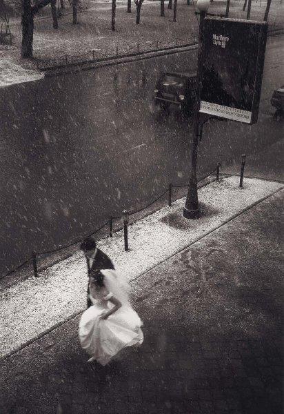 Первый снег. Георгий Розов, 1990 год, г. Москва, МАММ/МДФ.